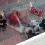 Sokak ortasında korkunç cinayet!