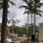 Ortalık savaş alanına döndü! ABD'de AVM'de şiddetli patlama