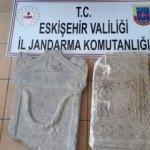 Roma dönemine ait mermer ele geçirildi
