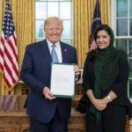 Trump, Beyaz Saray'da bir ilke imza attı