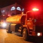 Bodrum'daki yangın büyümeden sündürüldü