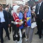Emine Erdoğan, Başçarşı'yı gezdi
