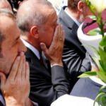 Erdoğan en ön saftaydı... 33 kurban daha uğurlandı