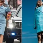 Melania Trump'ın dikilen ahşap heykeli olay oldu!