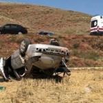 Taziye ziyaretine giderken feci kaza! 3 ölü, 1 yaralı