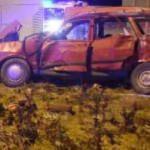 Yolcu otobüsü ile otomobil çarpıştı: 2 ölü, 2 yaralı