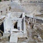 2 bin yıllık anıttaki restorasyon hatasını fırtına ortaya çıkardı