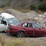 Cenaze yolunda feci kaza: 1 ölü 6 yaralı