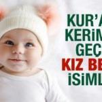 Kuran'da geçen kız bebek isimleri - Kıymetli & derin manalı bebek isimleri