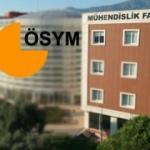 Mühendislik Fakültesi bölümleri taban puanı ve kontenjan sıralaması! 2019 ÖSYM..