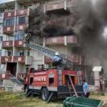 Tekirdağ'da yangın: 2 kardeş mahsur kaldı