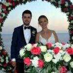 Tuz Gölü üzerinde nikah kıydılar
