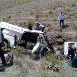 Van'da feci kaza: 17 ölü 50 yaralı