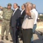 Türk komutanları yanına alıp mesaj verdi! 45 yıl sonra ayak bastılar