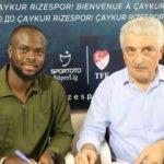 Çaykur Rizespor'dan bir transfer daha!