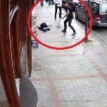 Genç kızı sokak ortasında darp eden zanlı tutuklandı