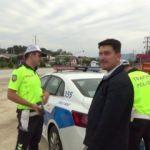 """Trafikte ceza alan sürücü: """"Niye koymuşlar o zaman bunu"""""""