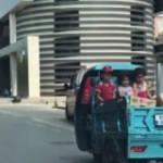 Çocukların tehlikeli yolculuğu kamerada!
