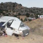Diyarbakır'da minibüs devrildi! Çok sayıda yaralı var!