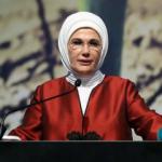 Emine Erdoğan'dan Salda Gölü mesajı