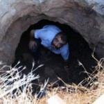 Kapadokya'da bahçe çöktü, aşağıdaki manzarayı gören inanamadı