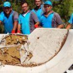 Marmaris'te bir günde 6 ton çöp topladı