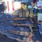 Pençe Harekatı'nda silah ve mühimmat ele geçirildi