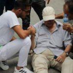 Yaşlı adama çarptı, kartvizitini bırakıp kaçtı