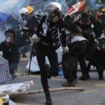Hong Kong yönetimi: Şiddet çözüm değil