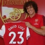David Luiz Arsenal'de!