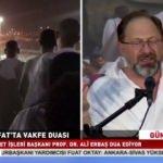 Diyanet İşleri Başkanı Erbaş, Arafat'ta vakfe duasını yaptı