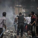 Esed rejiminden İdlib'e hava saldırısı! Ölüler var