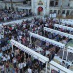 Eyüp Sultan Camii'nde bayram namazı