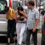 İhbara giden polis kız kardeşleri suçüstü yakaladı