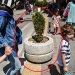 İstanbul'da tepki çeken görüntüler! Beton saksı bile koymuşlar