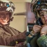 Kadın F-35 pilotu bir ilki başardı