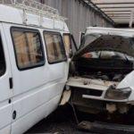 Malatya'da kamyonet minibüse çarptı: 2 yaralı