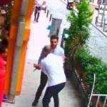 Şişli'de korku dolu anlar! Otel müşterisi bıçakla saldırdı
