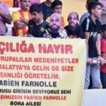 Irkçı saldırıya uğrayan Farnolle'e destek