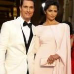 Oscar ödüllü oyuncu Matthew McConaughey