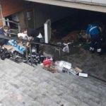 Eminönü'nde selin ardından son durum