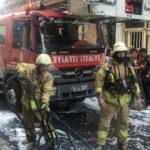 Fatih'te otelde yangın!