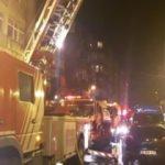 Fatih'te tekstil mağazasında yangın