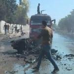 Kamışlı'da bomba yüklü araç patladı! 3 terörist öldü