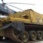 'Nükleer kıyamet' tankı bulundu