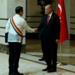 Büyükelçi Hernandez Erdoğan'a güven mektubu sundu