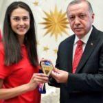 Cumhurbaşkanı Erdoğan, İrem Yaman'ı kabul etti