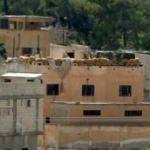 Tel Abyad'daki terör mevzileri görüntülendi