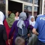 HDP'lilerden oğlu için eylem yapan anneye saldırı