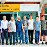 İHL'lerin birincisi Kartal Anadolu İHL oldu